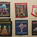 Vintage Iron Maiden patches