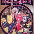 Iron Maiden - Patch - Vintage Iron Maiden - Bring your Daughter Backpatch