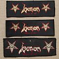 Venom - Welcome to Hell Stripe Patch comparision