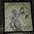 Metallica woven patch - and Justice for all...