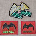 Vintage Overkill Patches