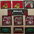 Metallica - Patch - Vintage Metallica patches