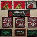 Vintage Metallica patches