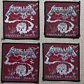 Metallica - Patch - Metallica Creeping Death patches