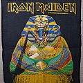 Iron Maiden - Patch - Iron Maiden - Powerslave Backpatch (vintage)