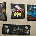 Vintage Sodom patches