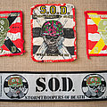 S.O.D. patch collection