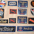 Judas Priest patch collection