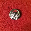 Black Witchery Desecration of the Holy Kingdom Pin Pin / Badge