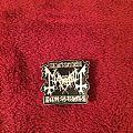 Mayhem De Mysteriis Dom Sathanas Pin Pin / Badge