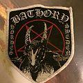Bathory - Patch - Bathory White Bordered Shield