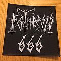 Katharsis 666 Woven Patch
