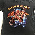 Monsters of Rock, Tour Shirt, 1991