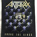 Anthrax, back patch, for VIPs only at meet & greet shows, very rare
