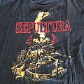 Sepultura, Tour Shirt Arise, 1991