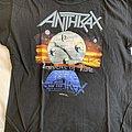 Anthrax Tour Shirt, Persistence Tour 1990