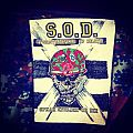 S.O.D. - Patch - S.O.D. back patch 1987
