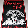 Running Wild old Fanclub Patch