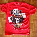 AC/DC, 'Rock Or Bust' original 2015 shirt for the 2 Zurich' shows
