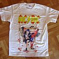 AC/DC, 'Rock Or Bust' original 2015 shirt for the 3 Spain' shows