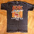 AC/DC, 'Fly On The Wall' original 1986 European tour shirt