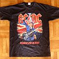 AC/DC, 'Rock Or Bust' original 2016 shirt for the Manchester' shows
