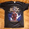 AC/DC, 'Rock Or Bust' original 2015/2016 shirt for the World tour