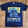 AC/DC, 'Rock Or Bust' original 2009 Stockholm shows shirt