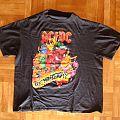 AC/DC, 'Razors Edge' original 1991 Monsters Of Rock tour shirt