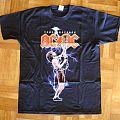 AC/DC, 'Rock Or Bust' original 2015 shirt for the 2 Munich' shows