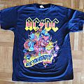 AC/DC, 'Rock Or Bust' original 2015 German tour shirt