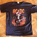 AC/DC, 'Rock Or Bust' original 2015 shirt for the Arnhem' show