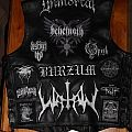 black / death metal vest