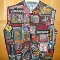 Napalm Death - Battle Jacket - my selfmade metal jacket, patches all over is a must!!!