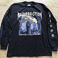 Resurrection - TShirt or Longsleeve - Resurrection - Embalmed Existence LS 1993 Nuclear Blast America version