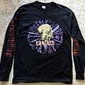 Carcass Campaign Tour 1992 Longsleeve Point Blank TShirt or Longsleeve