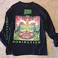 Morbid Angel Domination tour LS 1995 TShirt or Longsleeve
