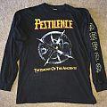 Pestilence - TShirt or Longsleeve - Pestilence Testimony Euro Tour LS 1992