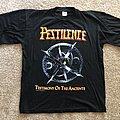 Pestilence - TShirt or Longsleeve - Pestilence- Testimony T-Shirt 1991 Blue Grape