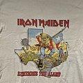 Iron Maiden - Remember the Alamo World Piece Tour Texas Eventshirt
