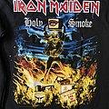 Iron Maiden - TShirt or Longsleeve - Iron Maiden - Holy Smoke Remastered Longsleeve with typo