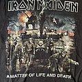 Iron Maiden - A Matter of Life and Death Tour Shirt