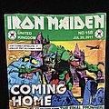 Iron Maiden- Final Frontier UK Tourshirt