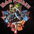 Iron Maiden - TShirt or Longsleeve - Iron Maiden - The Final Frontier Tour Canada Event Shirt