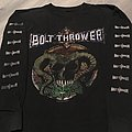 Bolt Thrower This time its war 1992 Tour Longsleeve TShirt or Longsleeve