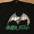 Overkill - TShirt or Longsleeve - Overkill Feel the Fire 1986 Tourshirt