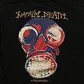 Napalm Death - TShirt or Longsleeve - Napalm Death Harmony Corruption 1990 Tourshirt