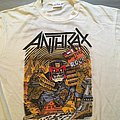 Anthrax Monsters of Rock 1988 Tourshirt