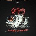 Obituary - TShirt or Longsleeve - Obituary Cause of Death 1990 Tourshirt