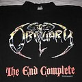 Obituary - TShirt or Longsleeve - Obituary The End Complete 1992 Tourshirt